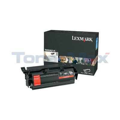 LEXMARK T650N PRINT CART BLACK